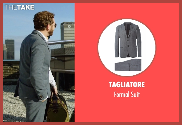Tagliatore gray suit from Urge seen with Danny Masterson (Neil)
