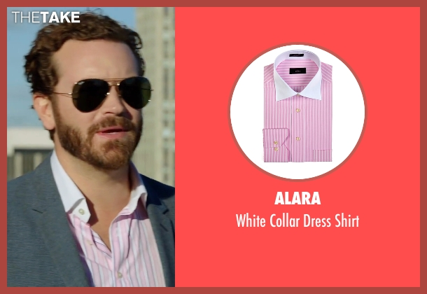 Alara pink shirt from Urge seen with Danny Masterson (Neil)