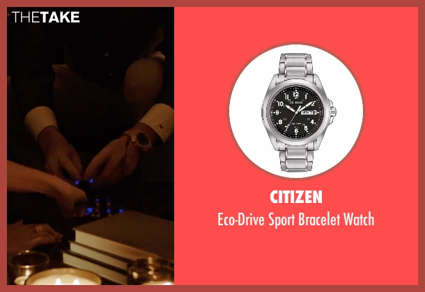 Citizen silver watch from Urge seen with Danny Masterson (Neil)