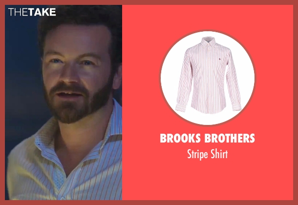 Brooks Brothers white shirt from Urge seen with Danny Masterson (Neil)