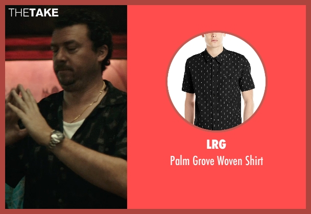 LRG black shirt from Rock The Kasbah seen with Danny McBride (Unknown Character)
