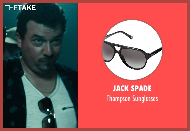 Jack Spade black sunglasses from Rock The Kasbah seen with Danny McBride (Unknown Character)