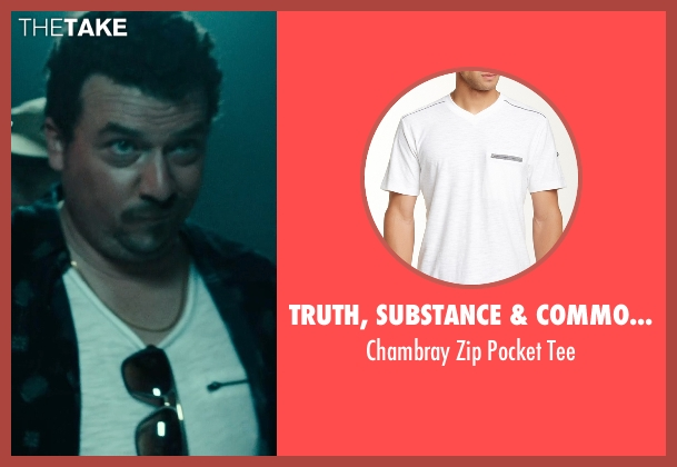 Truth, Substance & Common Sense white tee from Rock The Kasbah seen with Danny McBride (Unknown Character)