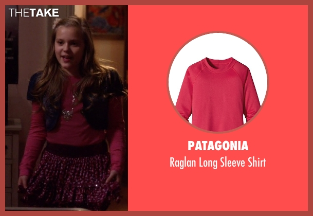 Patagonia pink shirt from Nashville seen with Daphne Conrad (Maisy Stella)