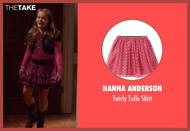 Hanna Anderson purple skirt from Nashville seen with Daphne Conrad (Maisy Stella)