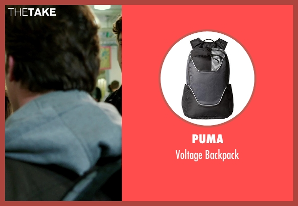 Puma black backpack from Ouija seen with Daren Kagasoff (Trevor)