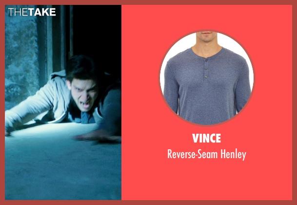 Vince blue henley from Ouija seen with Daren Kagasoff (Trevor)