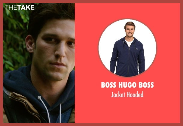 Boss Hugo Boss blue hooded from Ouija seen with Daren Kagasoff (Trevor)
