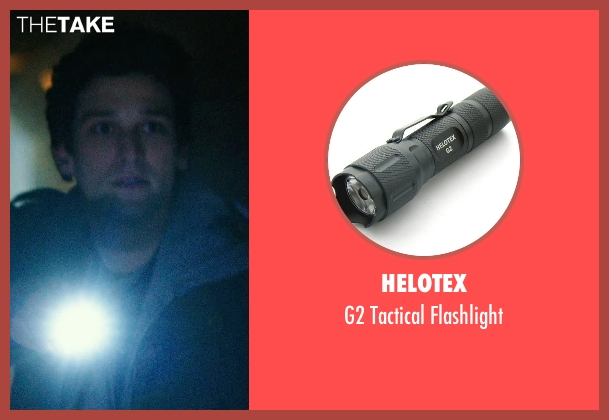 Helotex flashlight from Ouija seen with Daren Kagasoff (Trevor)