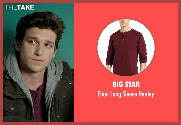 Big Star red henley from Ouija seen with Daren Kagasoff (Trevor)