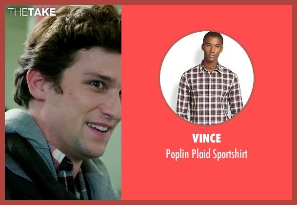 Vince red sportshirt from Ouija seen with Daren Kagasoff (Trevor)