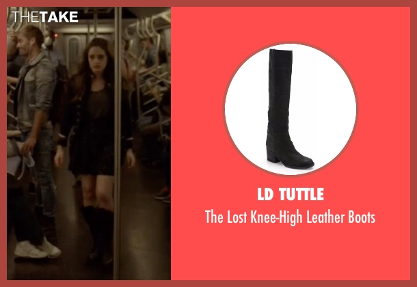 Ld Tuttle black boots from Mr. Robot seen with Darlene (Carly Chaikin)