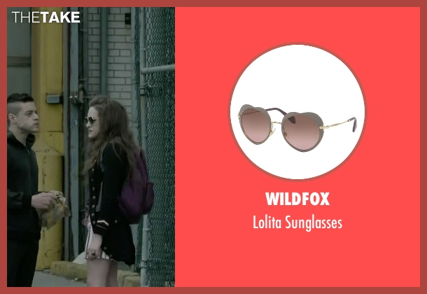 Wildfox sunglasses from Mr. Robot seen with Darlene (Carly Chaikin)