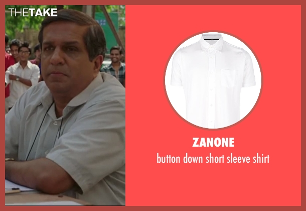 ZANONE white shirt from Million Dollar Arm seen with Darshan Jariwala (Vivek)