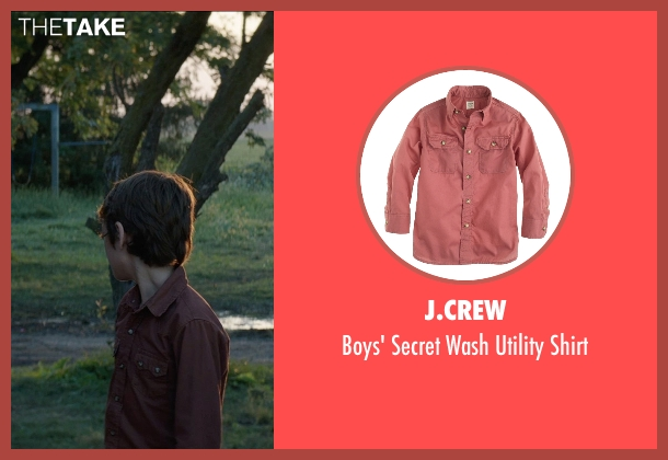 J.Crew red shirt from Sinister 2 seen with Dartanian Sloan (Zach)