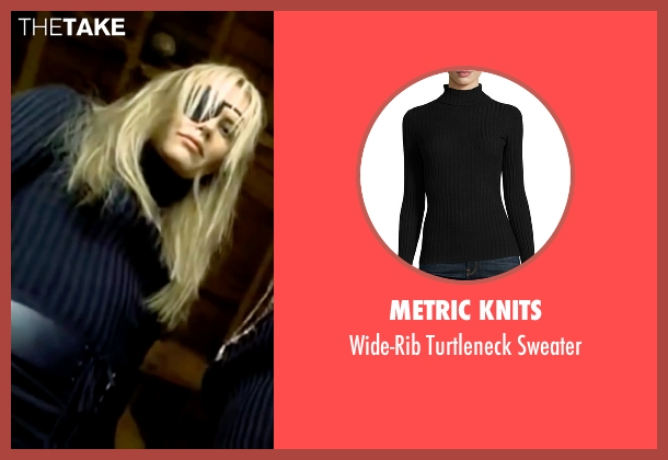 Metric Knits black sweater from Kill Bill: Vol. 1 seen with Daryl Hannah (Elle Driver)