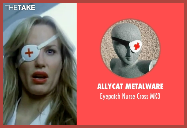 Allycat Metalware mk3 from Kill Bill: Vol. 1 seen with Daryl Hannah (Elle Driver)