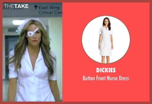 Dickies white dress from Kill Bill: Vol. 1 seen with Daryl Hannah (Elle Driver)