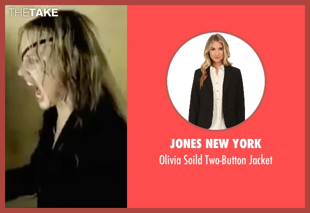 Jones New York black jacket from Kill Bill: Vol. 2 seen with Daryl Hannah (Elle Driver)