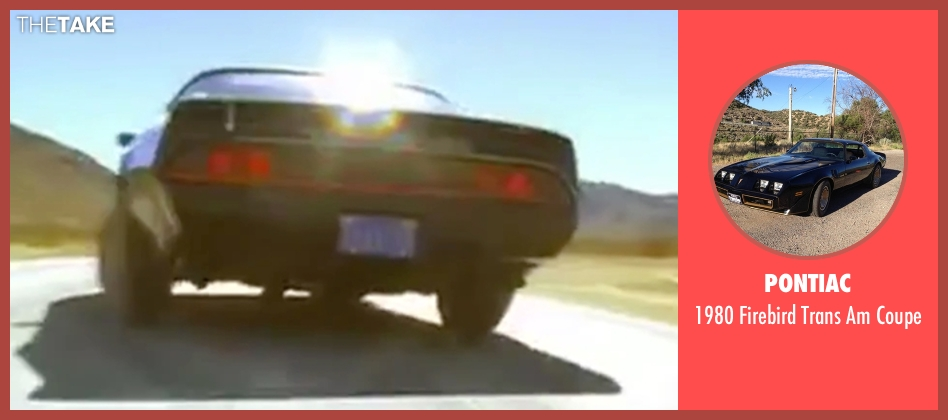 Pontiac coupe from Kill Bill: Vol. 2 seen with Daryl Hannah (Elle Driver)