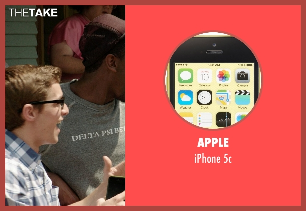 Apple 5c from Neighbors seen with Dave Franco (Pete)