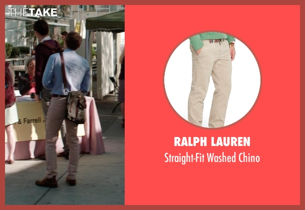 Ralph Lauren beige chino from Neighbors seen with Dave Franco (Pete)
