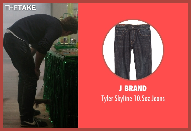 J Brand blue jeans from Neighbors seen with Dave Franco (Pete)