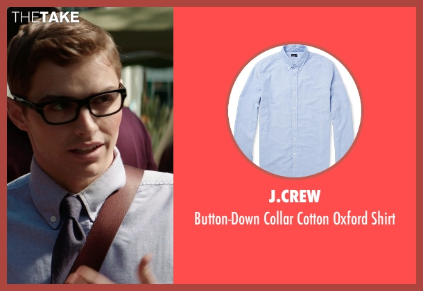 J.Crew blue shirt from Neighbors seen with Dave Franco (Pete)