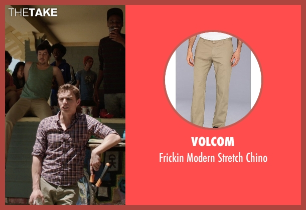 Volcom brown chino from Neighbors seen with Dave Franco (Pete)