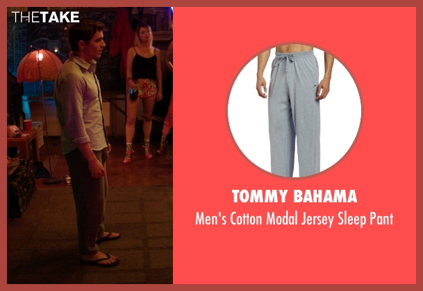 Tommy Bahama gray pant from Neighbors seen with Dave Franco (Pete)
