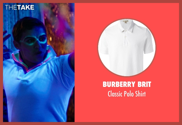 Burberry Brit white shirt from Neighbors seen with Dave Franco (Pete)