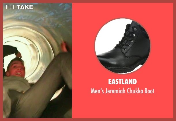 Eastland black boot from Now You See Me 2 seen with Dave Franco (Jack Wilder)