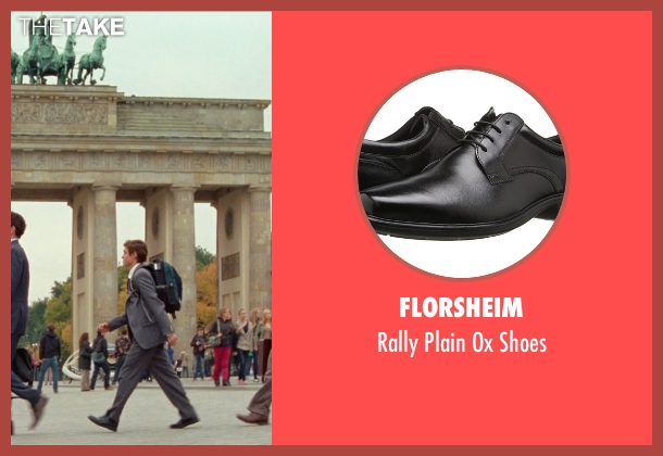 Florsheim black shoes from Unfinished Business seen with Dave Franco (Mike Pancake)