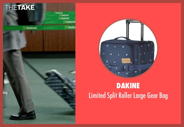 Dakine blue bag from Unfinished Business seen with Dave Franco (Mike Pancake)