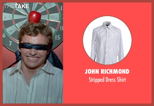 John Richmond white shirt from Unfinished Business seen with Dave Franco (Mike Pancake)