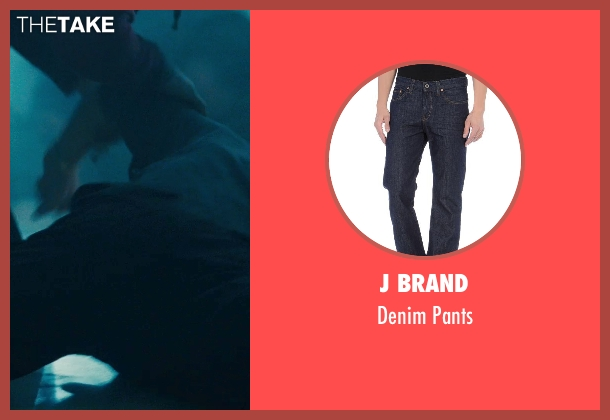 J Brand blue pants from Warm Bodies seen with Dave Franco (Perry)