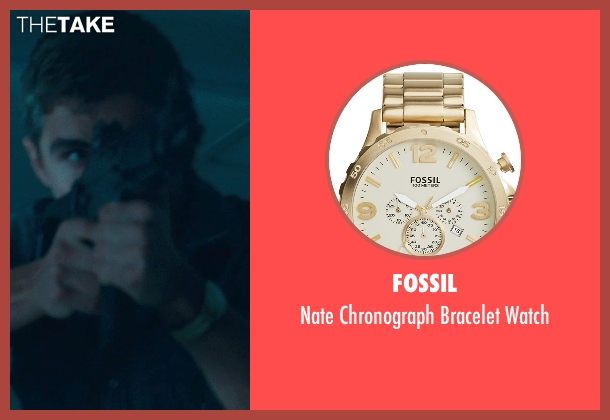 Fossil gold watch from Warm Bodies seen with Dave Franco (Perry)