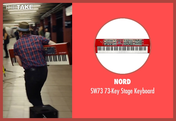 Nord keyboard from Begin Again seen with David Abeles (Glen)