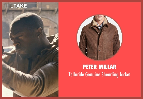 Peter Millar brown jacket from Fast & Furious 6 seen with David Ajala (Ivory)