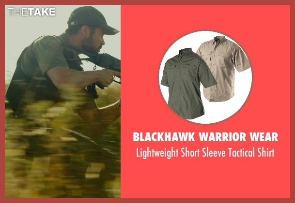 Blackhawk Warrior Wear green shirt from The Gunman seen with David Blakeley (Agent Weston)
