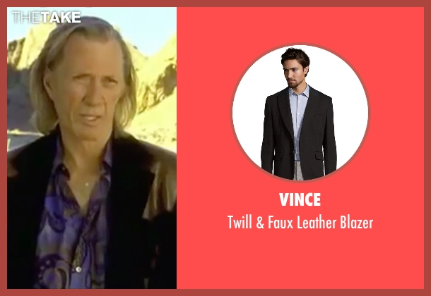 Vince black blazer from Kill Bill: Vol. 2 seen with David Carradine (Bill)