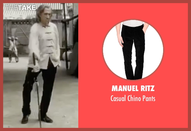 Manuel Ritz black pants from Kill Bill: Vol. 2 seen with David Carradine (Bill)