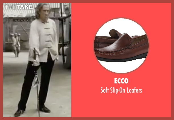 Ecco brown loafers from Kill Bill: Vol. 2 seen with David Carradine (Bill)