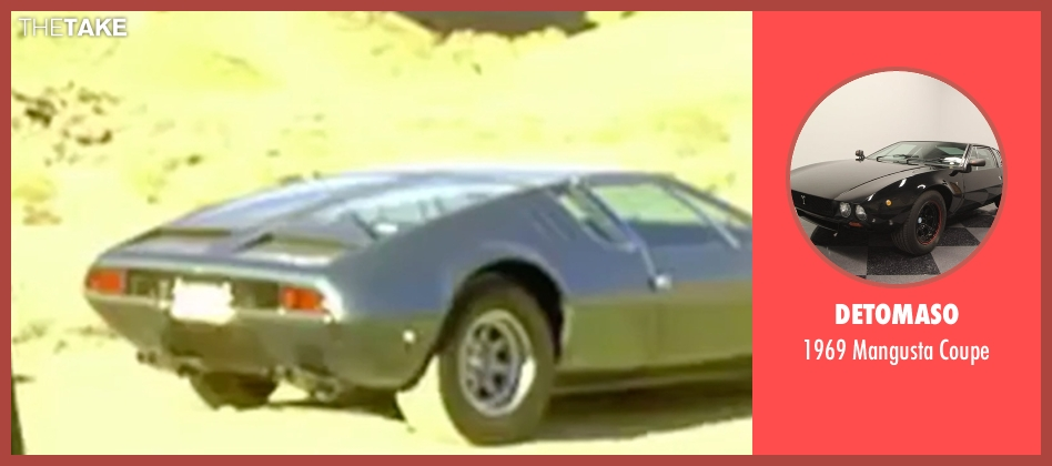 DeTomaso coupe from Kill Bill: Vol. 2 seen with David Carradine (Bill)