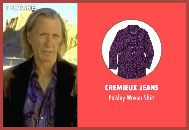 Cremieux Jeans purple shirt from Kill Bill: Vol. 2 seen with David Carradine (Bill)