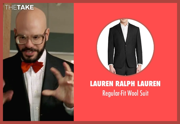 Lauren Ralph Lauren  black suit from She's The Man seen with David Cross (Gold)
