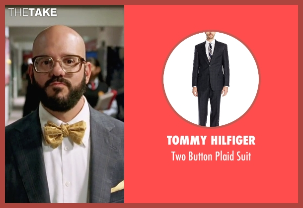 Tommy Hilfiger gray suit from She's The Man seen with David Cross (Gold)