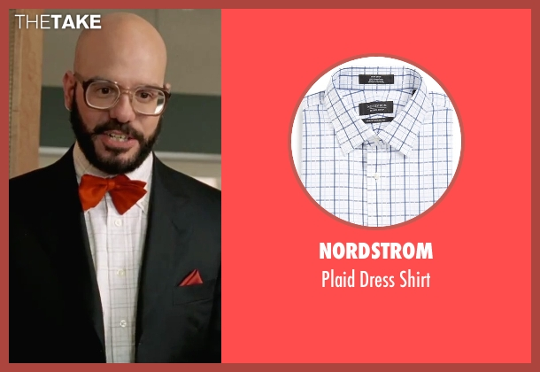 Nordstrom white shirt from She's The Man seen with David Cross (Gold)