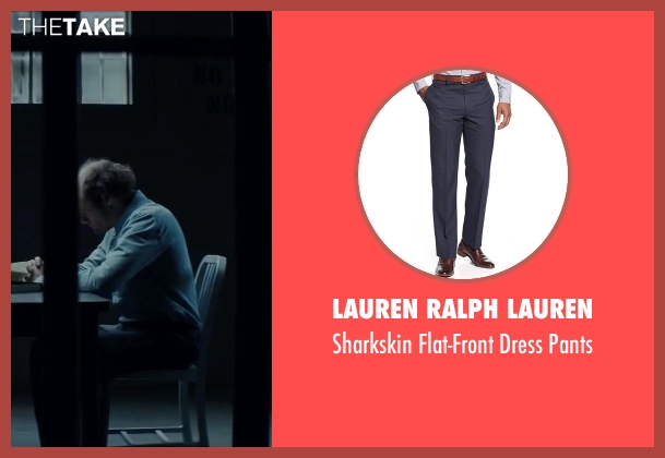Lauren Ralph Lauren blue pants from Regression seen with David Dencik (John Gray)