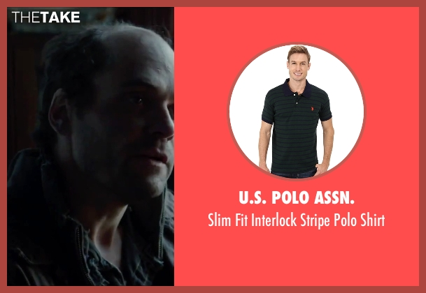 U.S. Polo Assn. green shirt from Regression seen with David Dencik (John Gray)